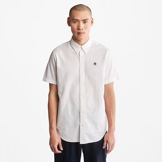 Chemise oxford Gale River pour homme en blanc | Timberland