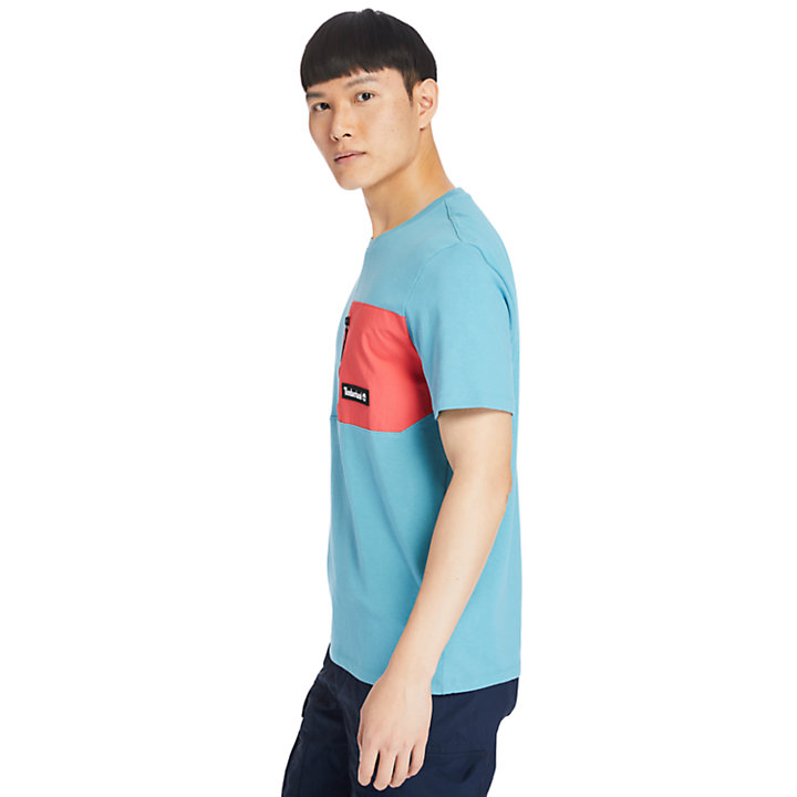 Outdoor Archive T-Shirt for Men in Blue-