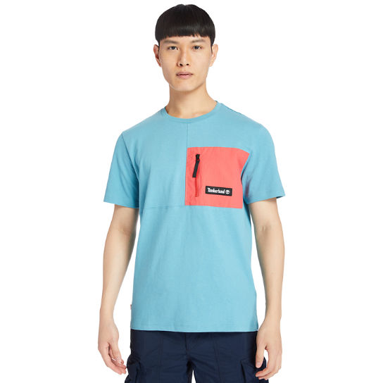 Outdoor Archive T-Shirt for Men in Blue | Timberland