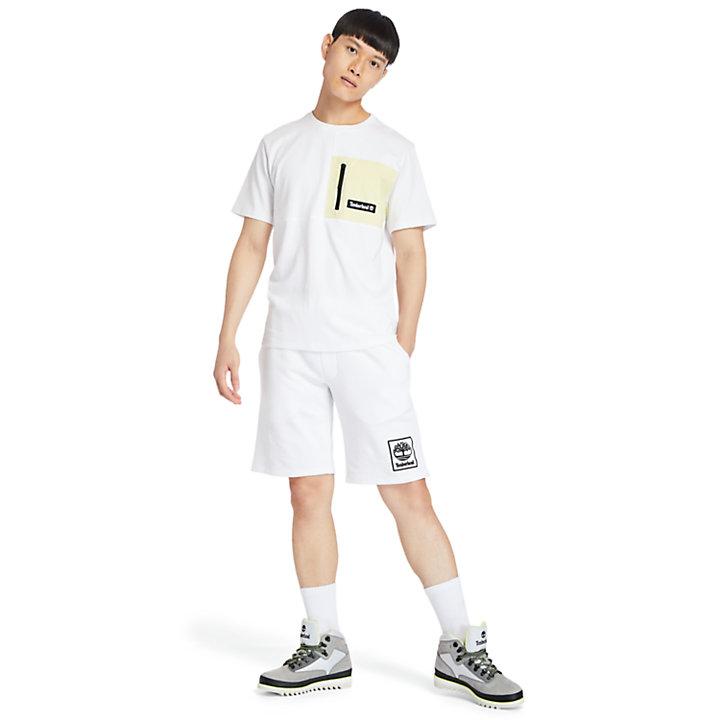 Outdoor Archive T-Shirt für Herren in Weiß-
