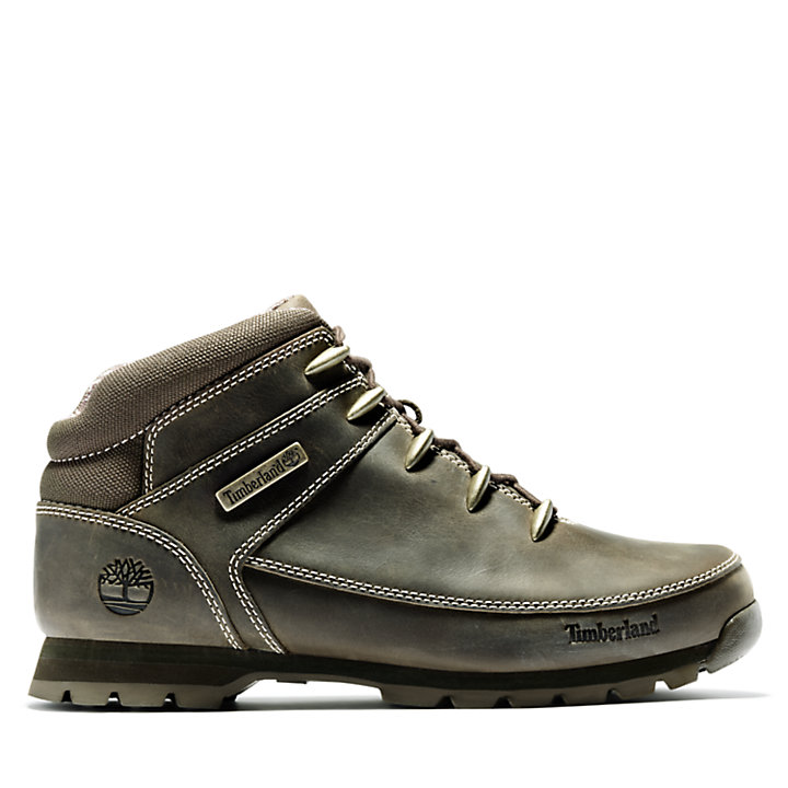 Euro Sprint Mid Hiker for Men in Dark Brown-