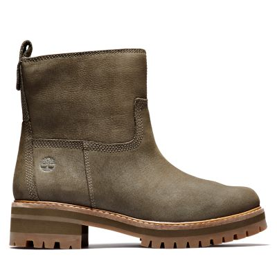 Courmayeur+Lined+Boot+voor+dames+in+groen