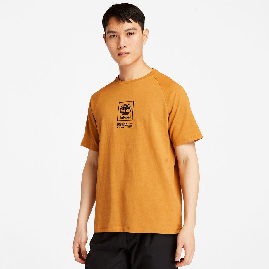 T-shirt Épais À Logo En , Taille L - Timberland - Modalova