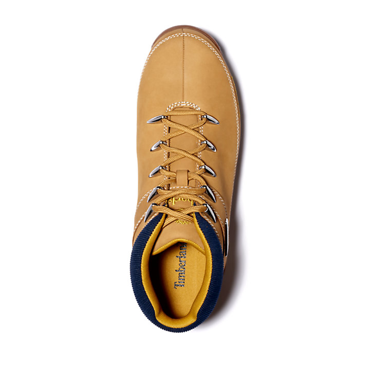 Euro Sprint Mid Hiker for Men in Yellow/Navy-
