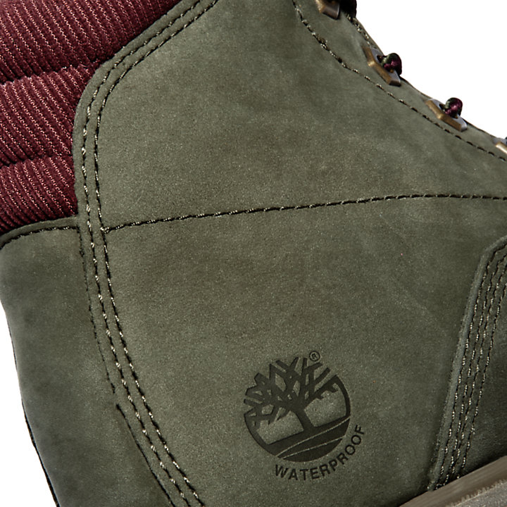 Waterville 6-Inch Boot voor Dames in groen-
