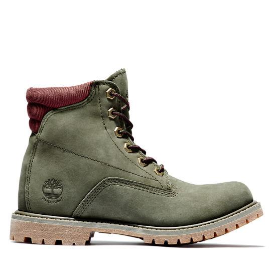 timberland chaussure femme vert