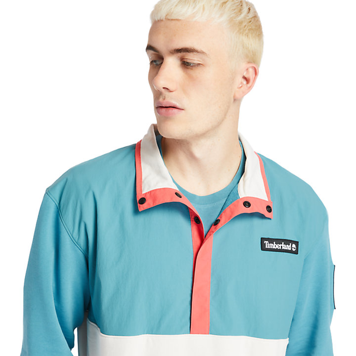 Veste hybride Outdoor Archive pour homme en bleu sarcelle-