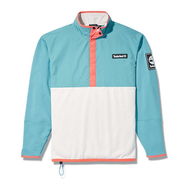 Outdoor Archive Hybrid Jacket for Men in Teal-