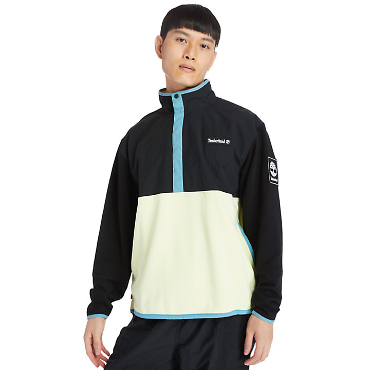 Outdoor Archive Hybrid Jacket for Men in Light Green-