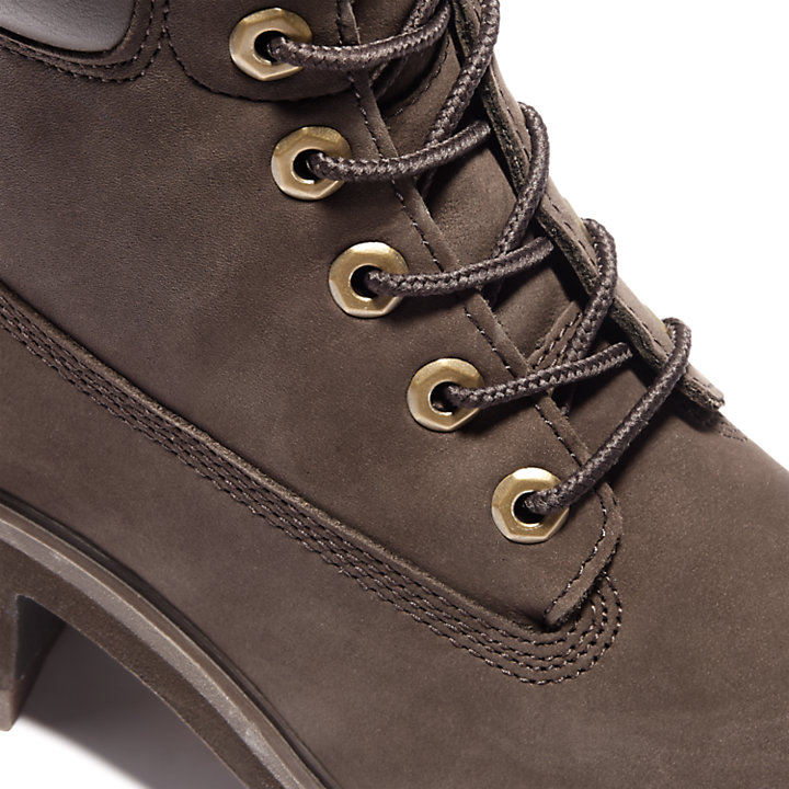 Kinsley 6-Inch Boot voor Dames in donkerbruin-