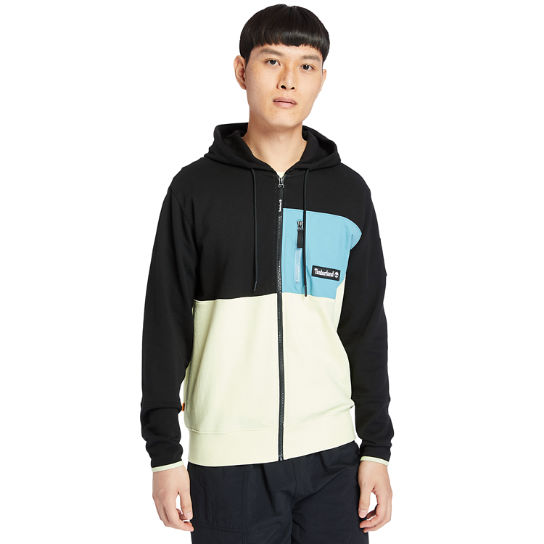 Outdoor Archive Full-zip Hoodie for Men in Black/Green | Timberland