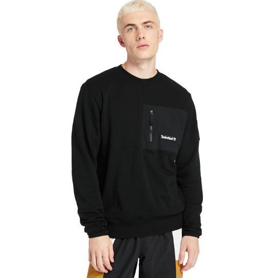 Outdoor Archive Crewneck Sweatshirt for Men in Black | Timberland