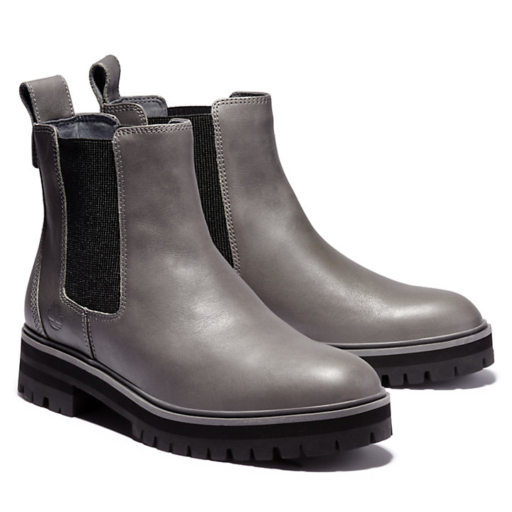 London Square Chelsea Boot for Women in Grey-