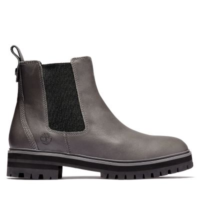 London+Square+Chelsea+Boot+for+Women+in+Grey