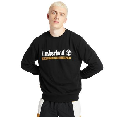 Established+1973+Sweatshirt+f%C3%BCr+Herren+in+Schwarz