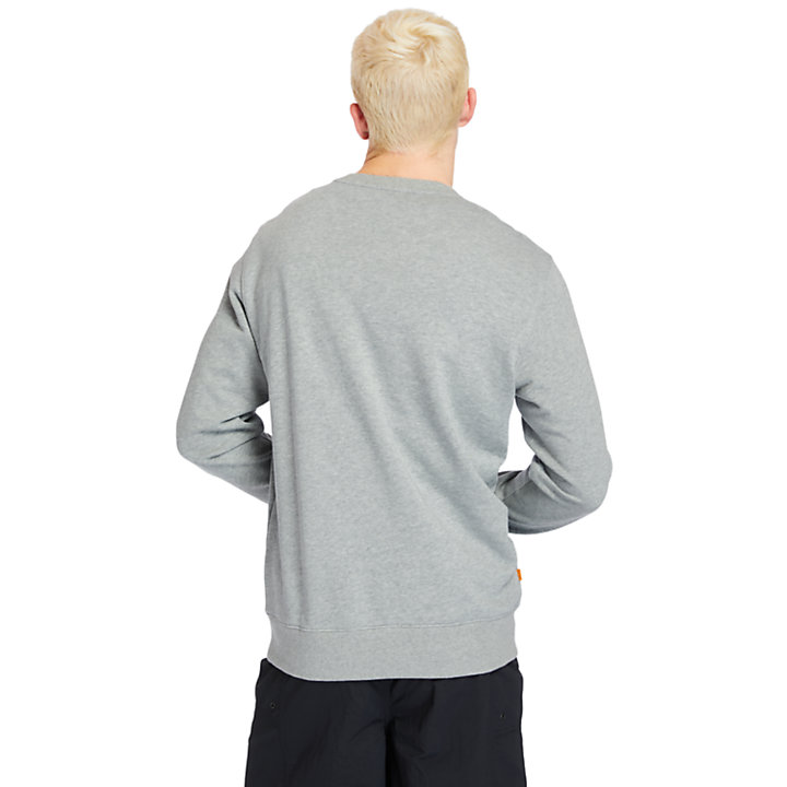 Sweat-shirt Established 1973 pour homme en gris-
