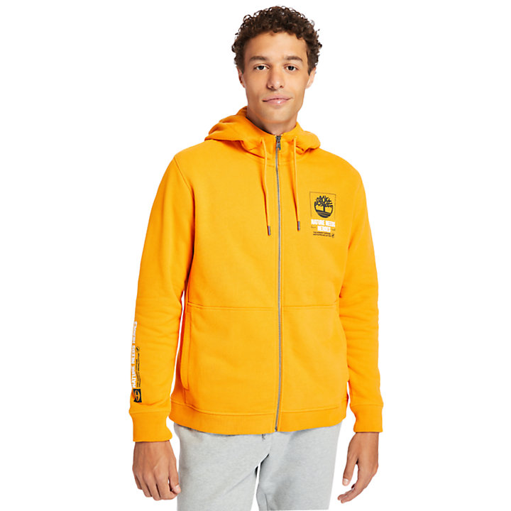 Nature Needs Heroes™ Hoodie for Men in Orange-