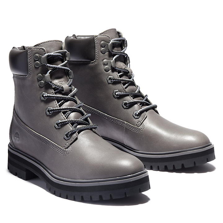 London Square 6 Inch Boot for Women in Grey-