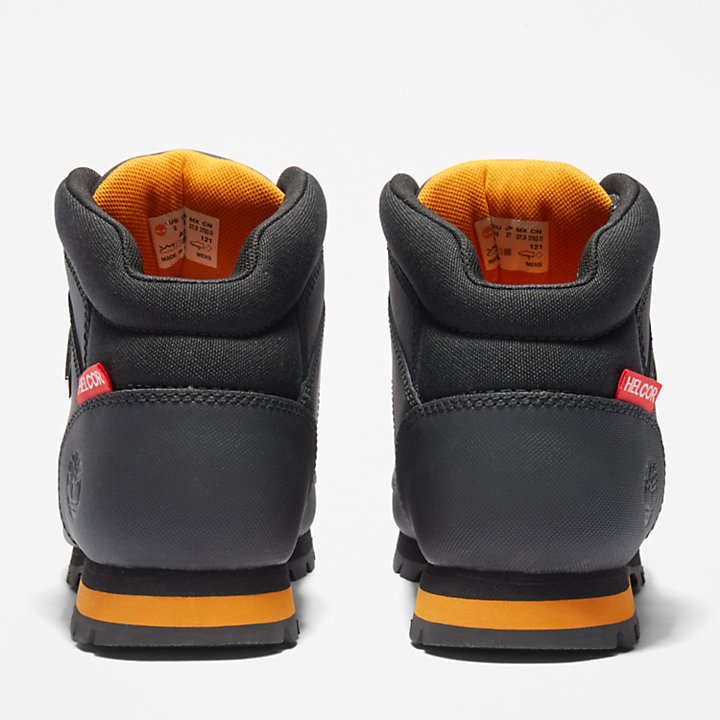 Euro Sprint Mid Hiker for Men in Black Helcor®-