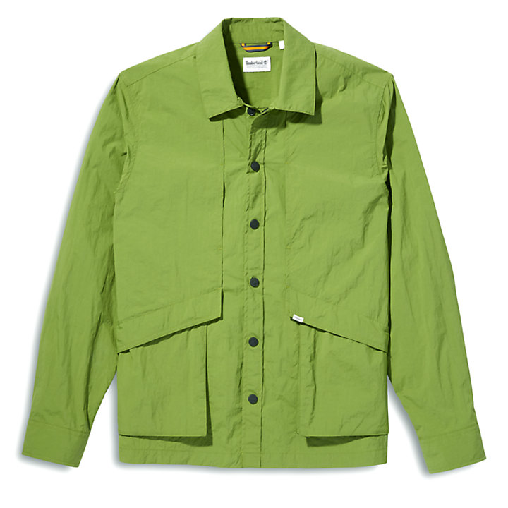 Field Trip Overshirt for Men in Green-