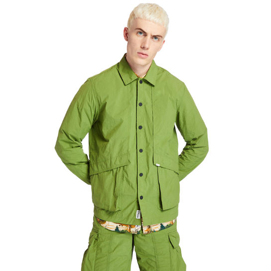Field Trip Overshirt for Men in Green | Timberland