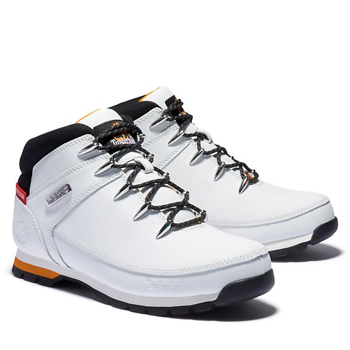 Euro Sprint Mid Hiker for Men in White-