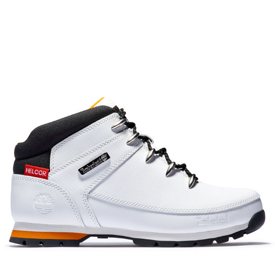 harina canal Cocinando  Euro Sprint Mid Hiker for Men in White | Timberland