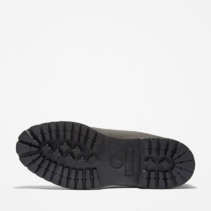 Premium Warm Collar Boot for Men in Black-