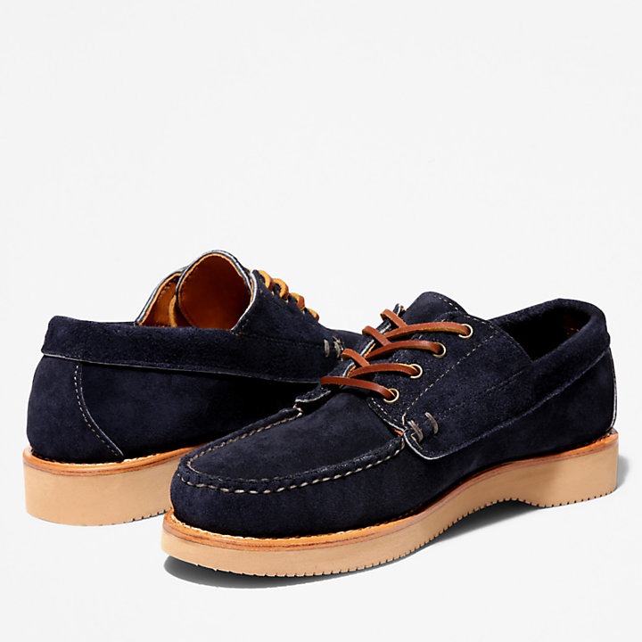 American Craft Boat Shoe for Men in Navy-