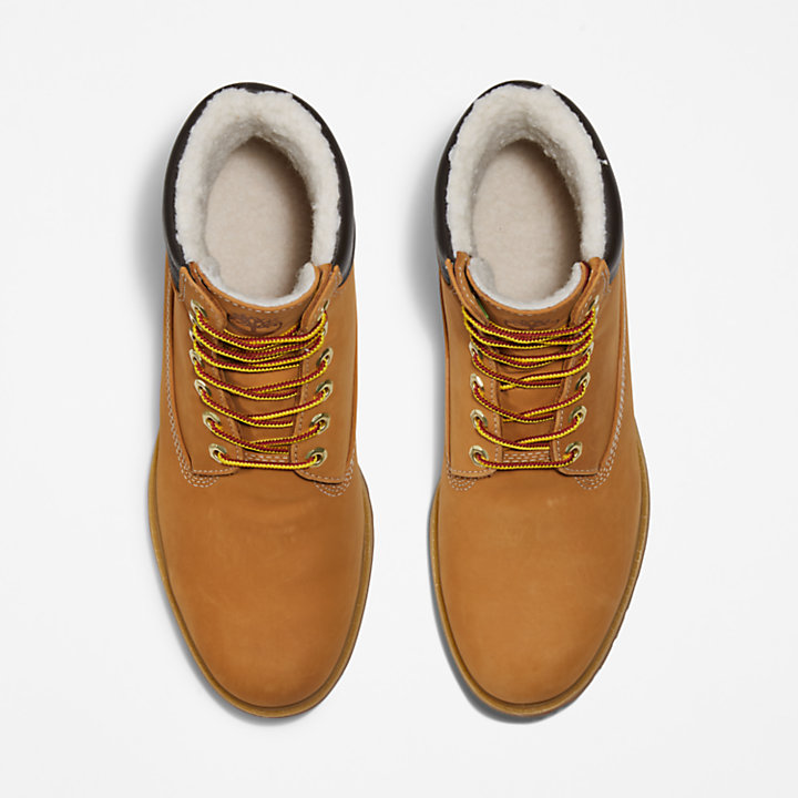 Premium Warm Collar Boot for Men in Yellow-
