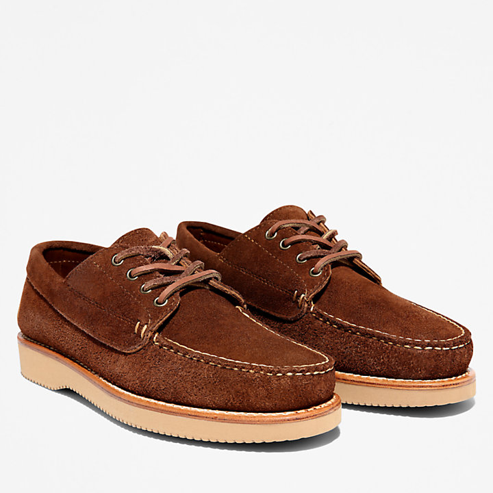 American Craft Bootschoen voor Heren in donkerbruin-