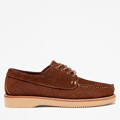 American+Craft+Boat+Shoe+for+Men+in+Dark+Brown