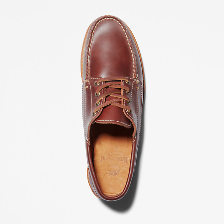 American Craft Boat Shoe for Men in Brown-