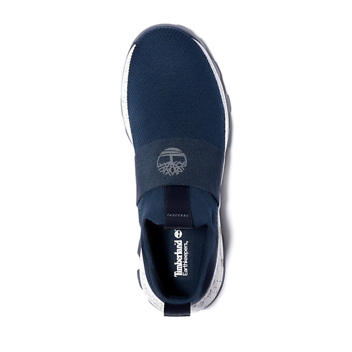 Brooklyn Slip-On Sneaker für Herren in Marineblau-