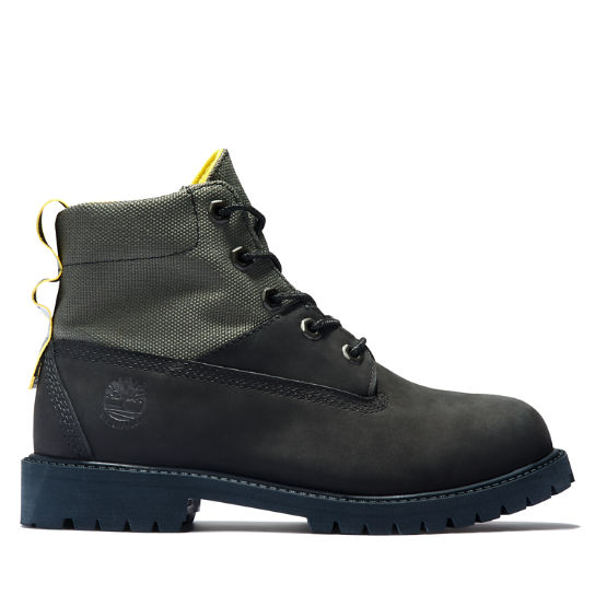 6-Inch Boot junior en noir | Timberland