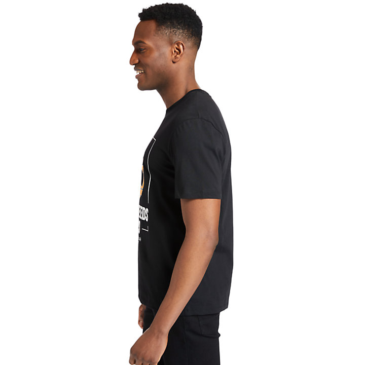 Camiseta Nature Needs Heroes™ para Hombre en color negro-