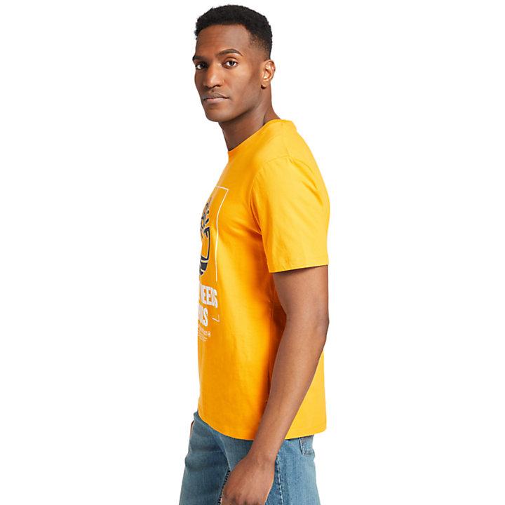 Nature Needs Heroes™ T-Shirt for Men in Orange-