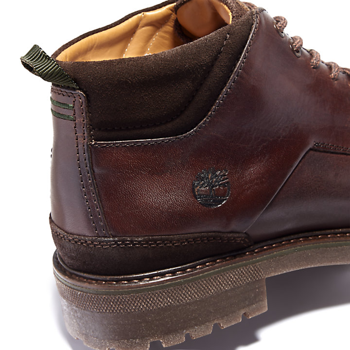 Chukka da Uomo Oakrock in marrone scuro-