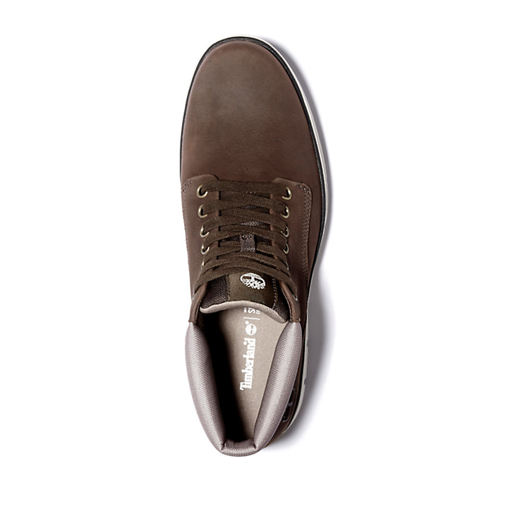 Chukka da Uomo Bradstreet in marrone scuro-