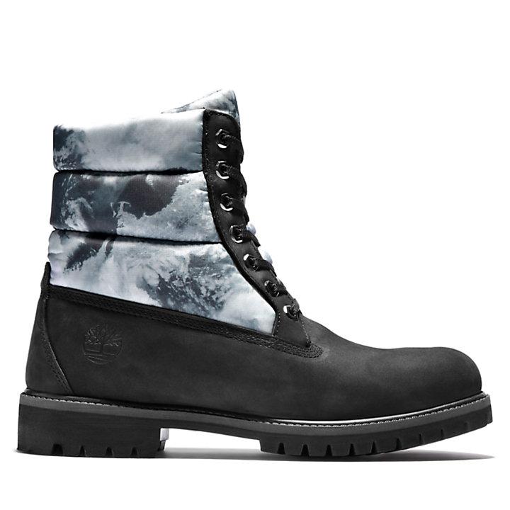 6-Inch Boot Premium matelassée Climate Pack pour homme en noir-