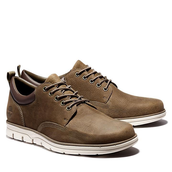 Bradstreet Leather Sneaker for Men in Green-