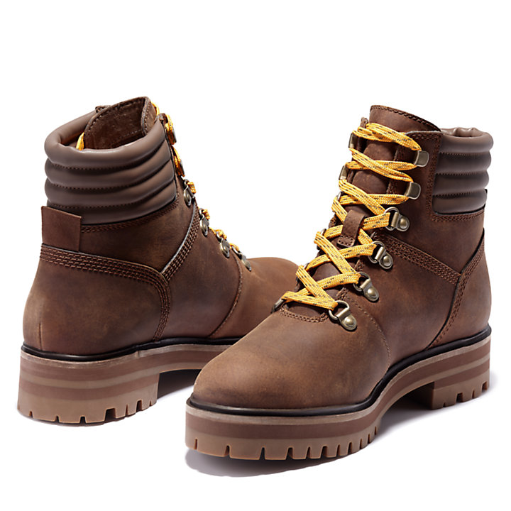 London Square Mid Hiker for Women in Brown-