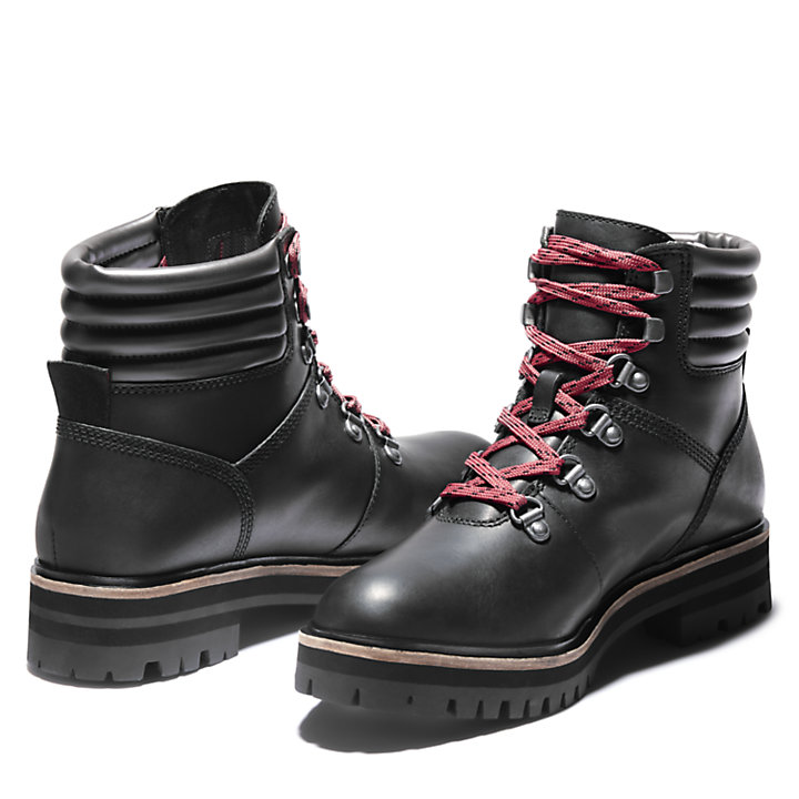 London Square Mid Hiker for Women in Black-