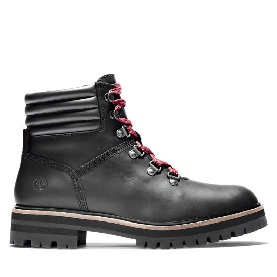 London Square Mid Hiker for Women in Black | Timberland