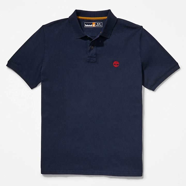Polo Sunwashed para hombre en azul marino-