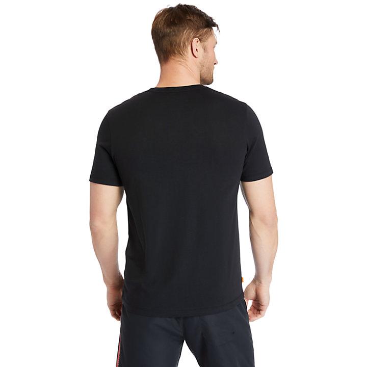 Cocheco River Supima® Cotton T-shirt for Men in Black-