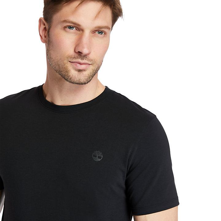 T-shirt Cocheco River coton Supima® pour homme en noir-