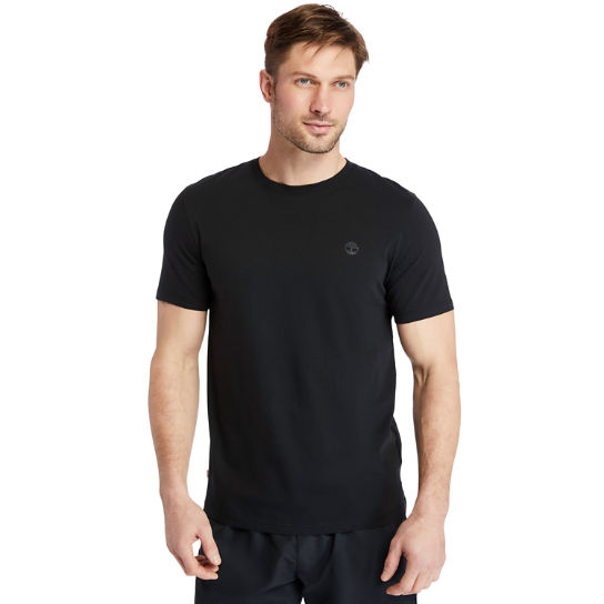 Cocheco River Supima® Cotton T-shirt for Men in Black | Timberland