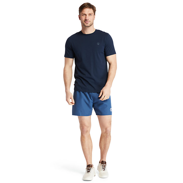 Cocheco River Supima® Cotton T-shirt for Men in Navy-