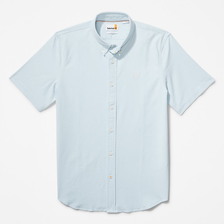 Pleasant River Oxford Shirt for Men in Light Blue-